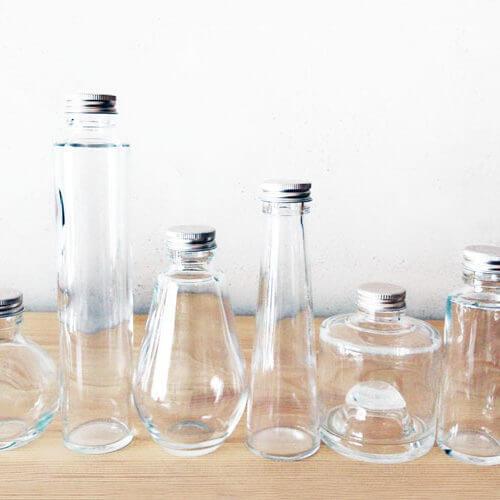 ハーバリウムボトル ガラス瓶