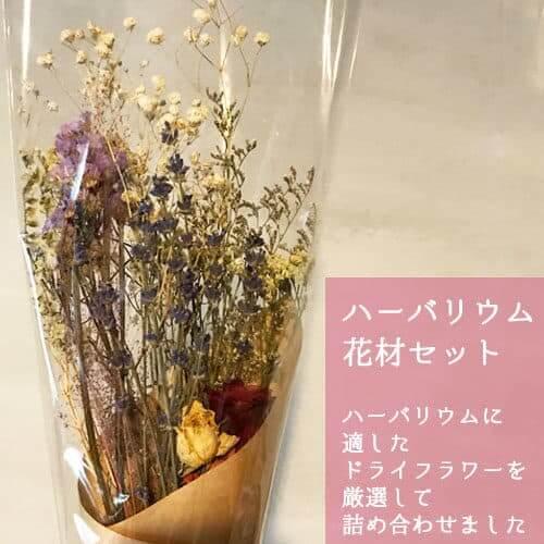 ハーバリウム花材セット ドライフラワーバナー画像2