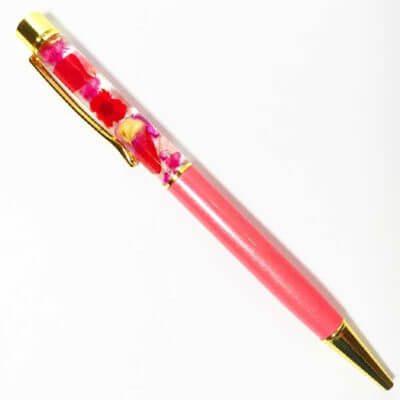 ハーバリウムボールペンキット ハーバリウムペン あじさい かすみそう スターフラワー ハーバリウム通販販売店PAVO